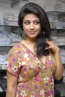 Supriya in Floral Top and Denim Jeans at Subham Cloth Store 1st Anniversary Celebrations
