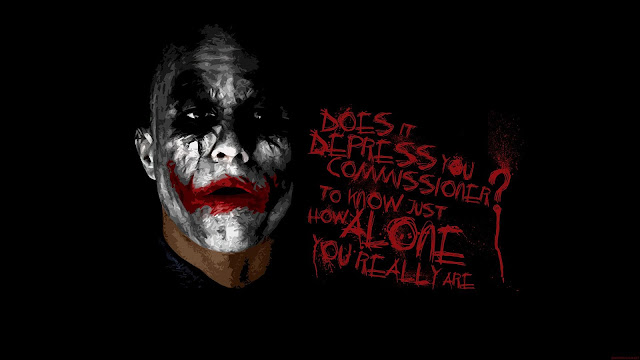 Joker Quote Dark Knight