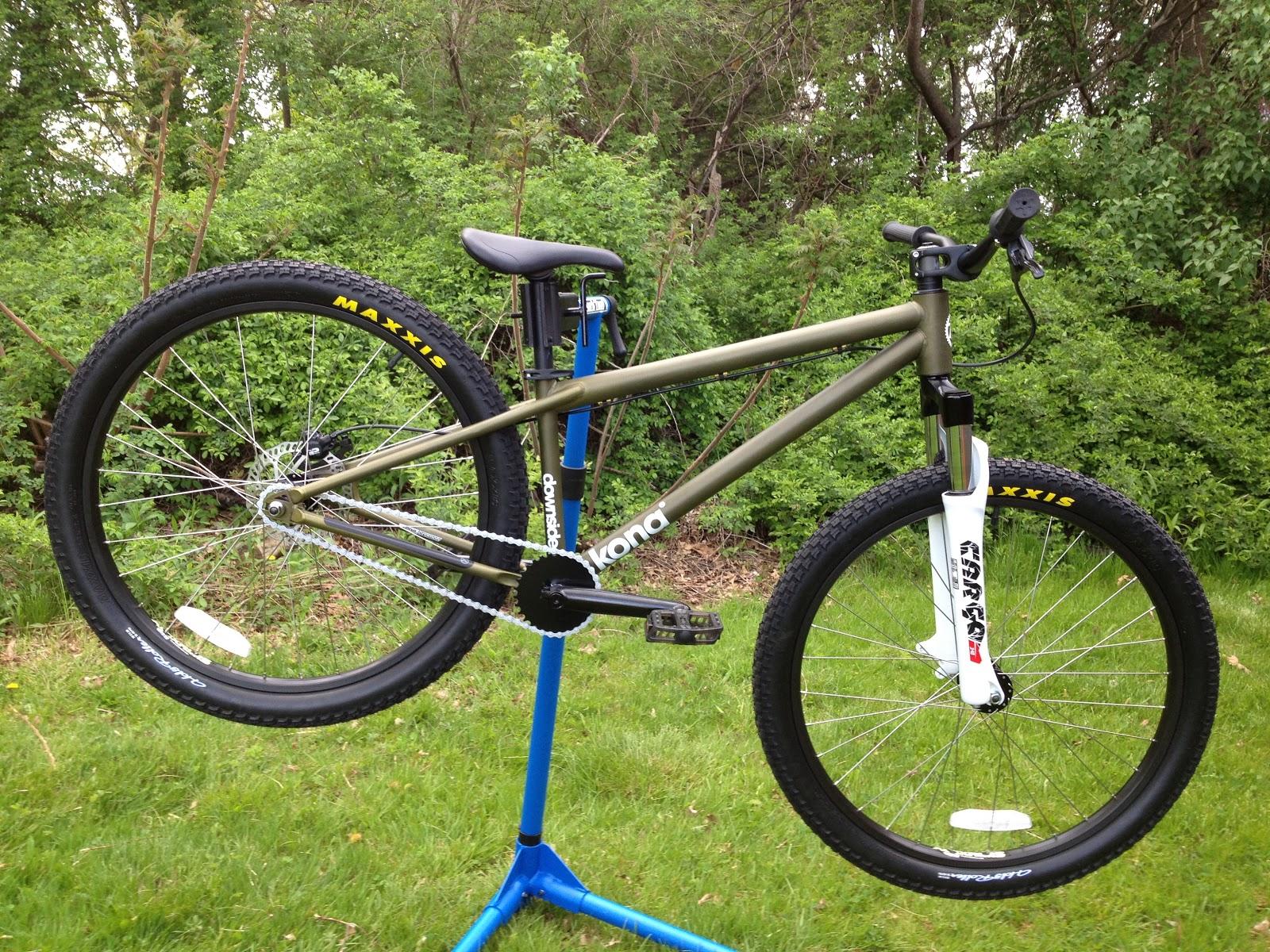 Cutting Edge Mountain Bikes Kona Downside