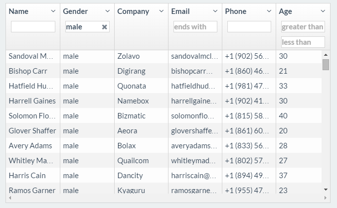 5 best angularjs grid table plugin examples with demos
