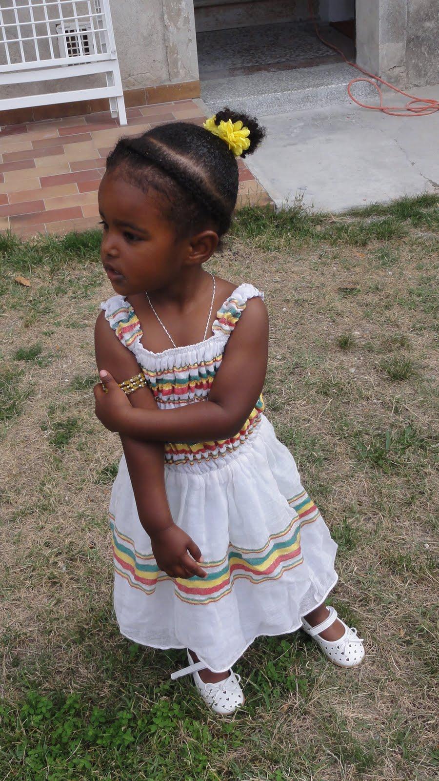 Ethiopian Traditional Dress for Church