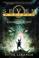 book cover of The Colossus Rises by Peter Lerangis