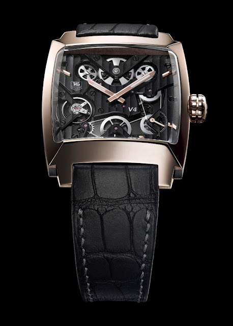 tag heuer limited edition rose gold monaco watch
