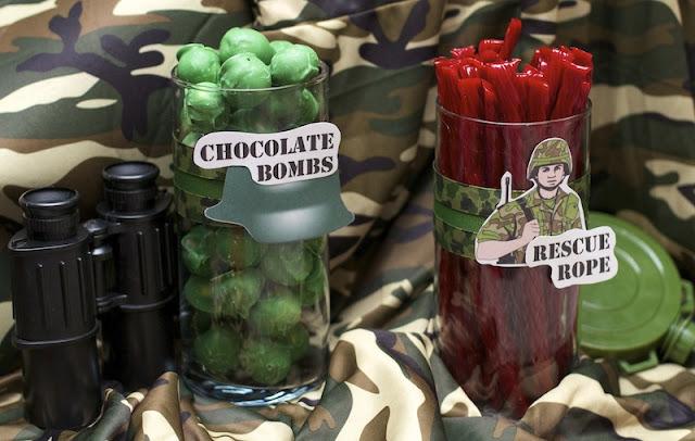Army Birthday Party Ideas