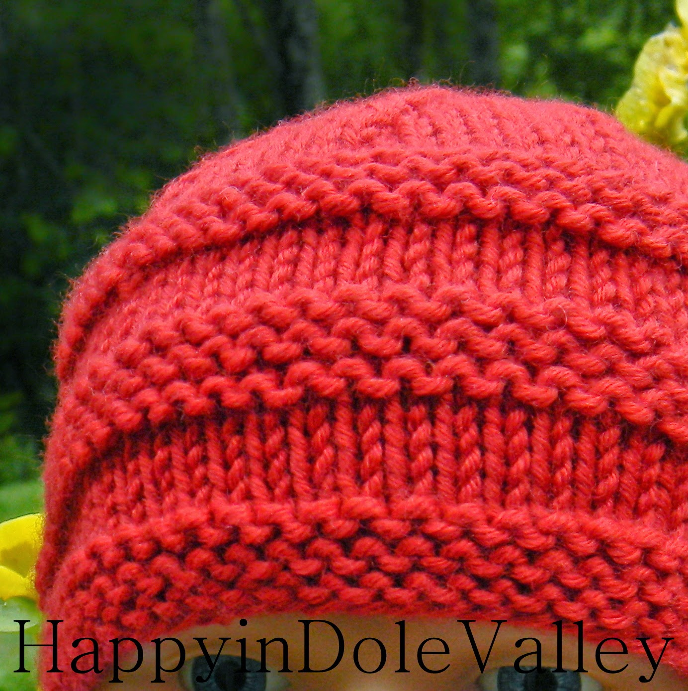 Happy in Dole Valley: 1 - 2 - 3 Baby Beanie