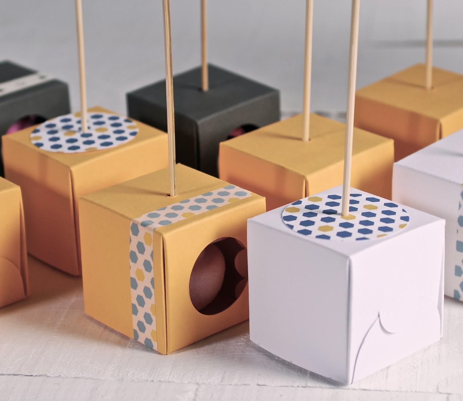 cajas para un cake pop, cajas para 1 cake pop, cajas para cake pops individuales, cajas cake pops individuales, cajas baratas para cake pops