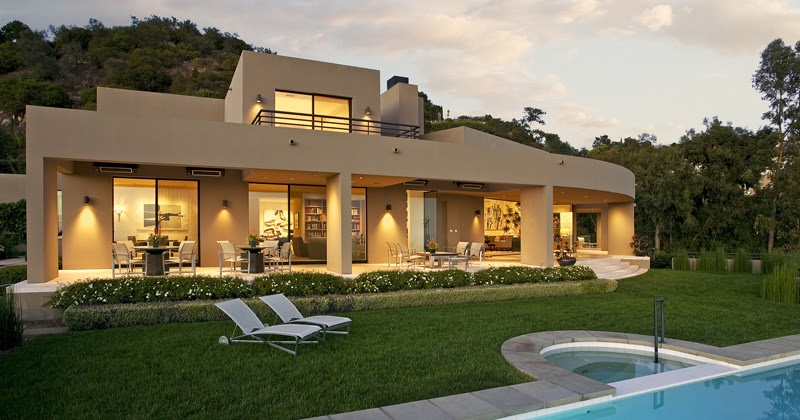 World of architecture beautiful modern house in montecito near santa barbara california - Beautiful panoramic view house to take full advantage of the scenery ...