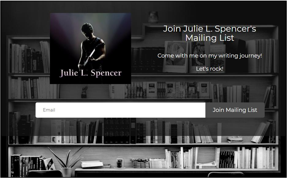 Join Julie L. Spencer's Mailing List!