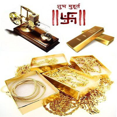 Best Muhurat and Days to Buy Gold in 2013