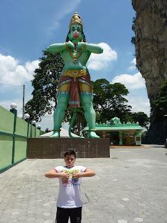 Dios hindú batu caves