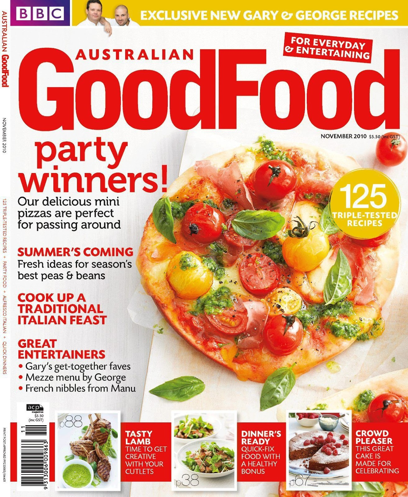 Rosie penver a level media magazine genres examples for Cuisine examples