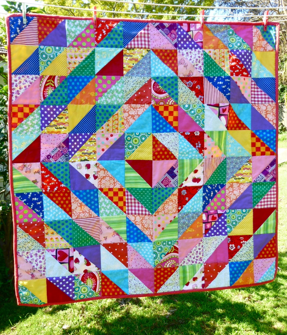 how to make an easy quilt step by step