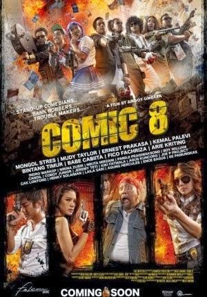 Film Comic 8 (2014) Bioskop