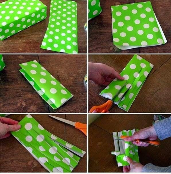 Paper | Step By Step Plastic Strip Tutorial.