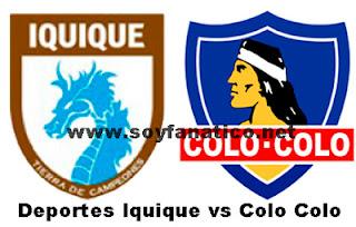 Colo Colo vs Iquique 2013