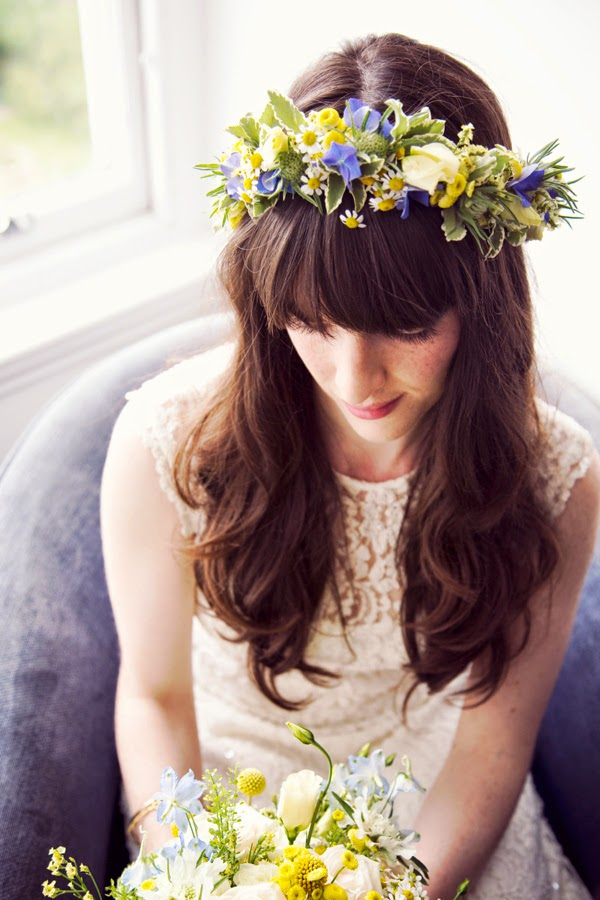 The Confetti Blog Yellow And Blue Wedding Ideas From The