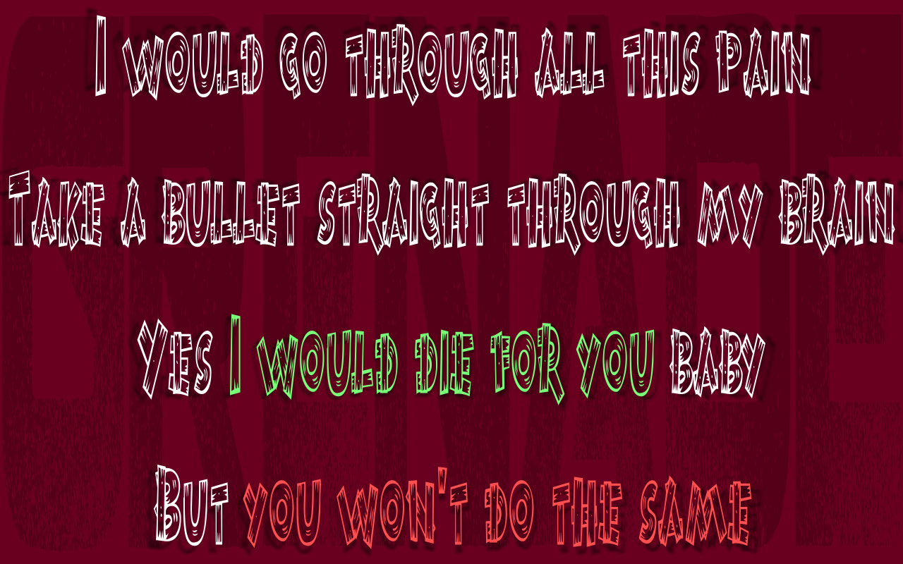 Song lyric quotes in text image grenade bruno mars song quote image