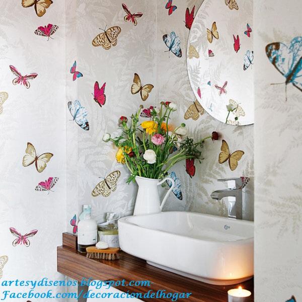 Dise o de paredes para ba os decoraci n del hogar - Disenos para pintar paredes ...
