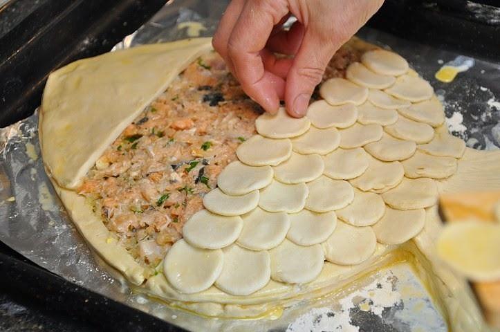 Тесто для рыбного пирога рецепт