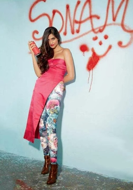 Sonam Kapoor in Cosmopolitan Magazine