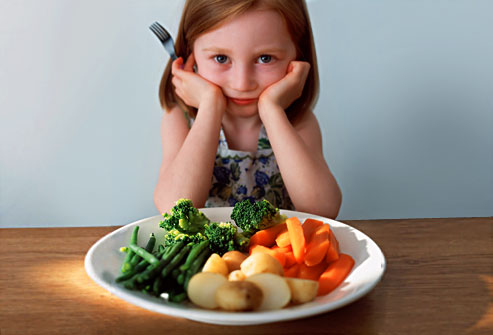 Resultado de imagen para niña no quiere comer