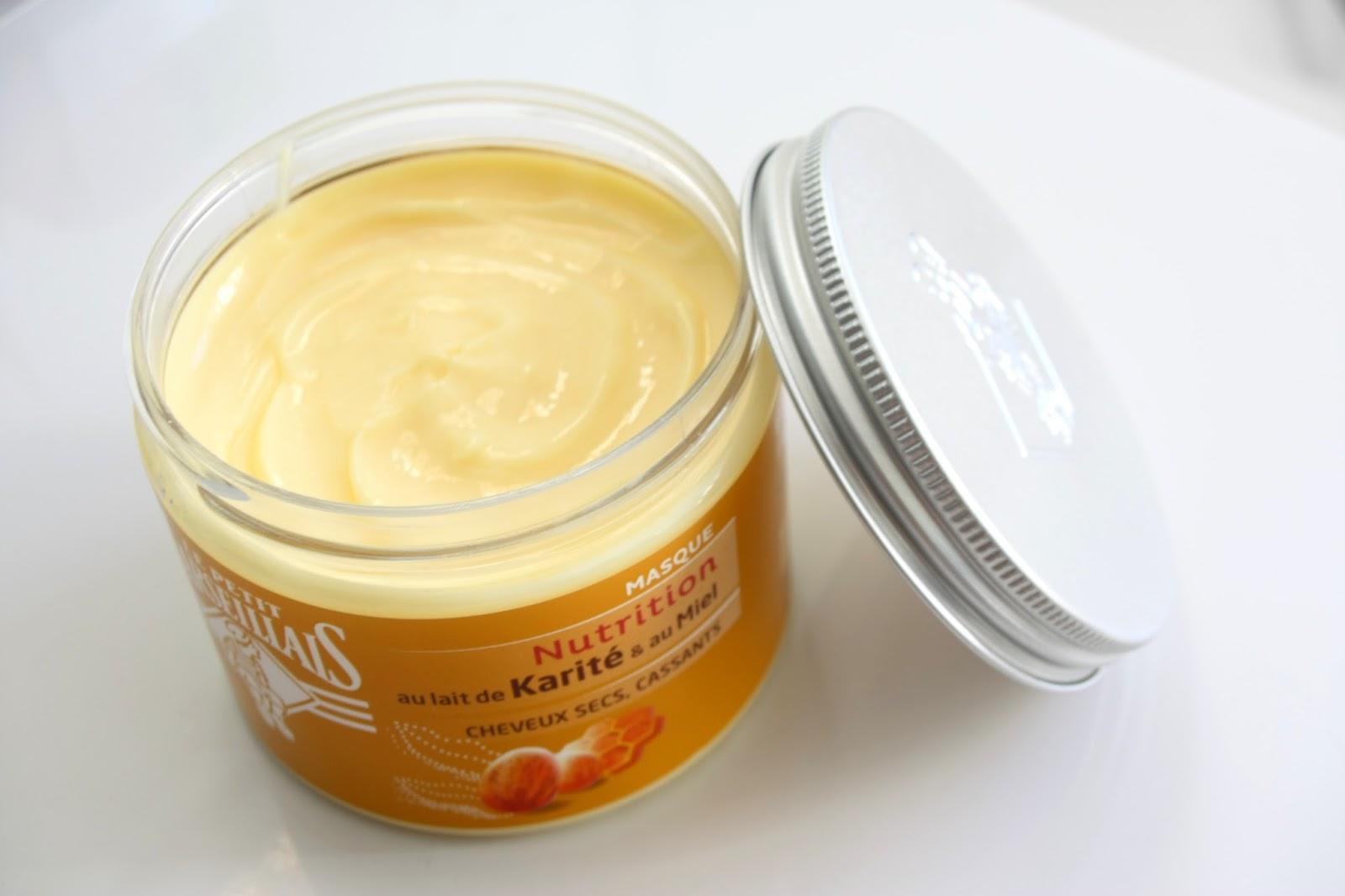 make up by linoa masque cheveux le petit marseillais au miel et karit hummm. Black Bedroom Furniture Sets. Home Design Ideas