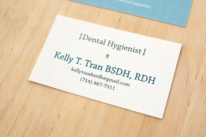 Jessicaha business cards for a dental hygienist business cards for a dental hygienist colourmoves Gallery