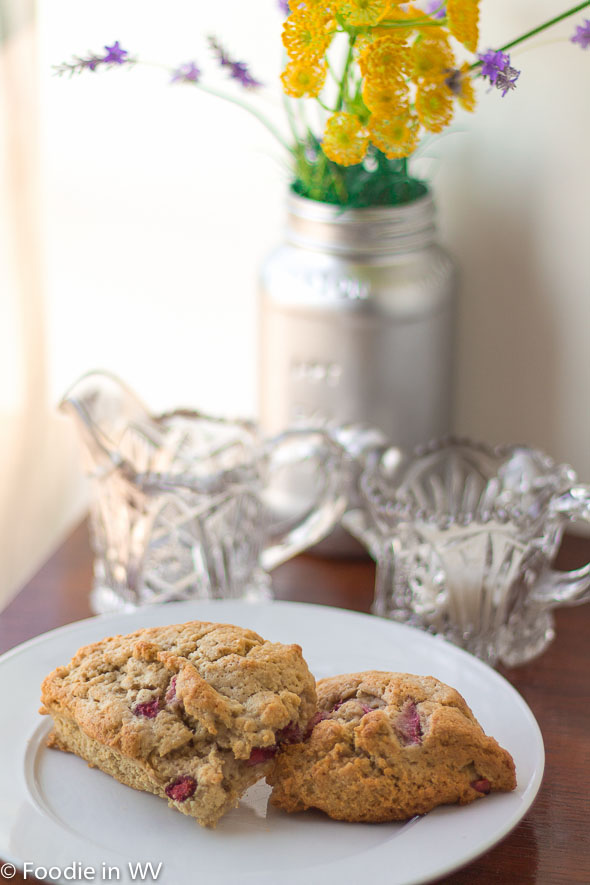 Click for Recipe for Gluten Free Strawberry Scones