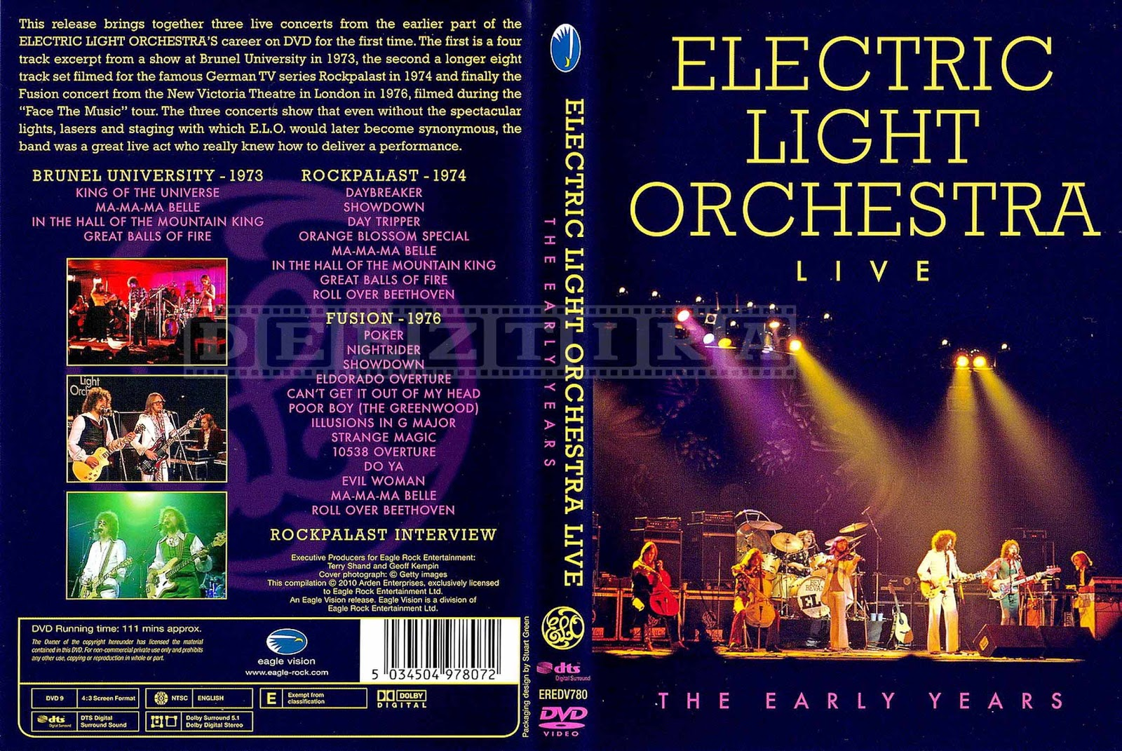 Youdiscoll elo electric light orchestra for Lit orchestra