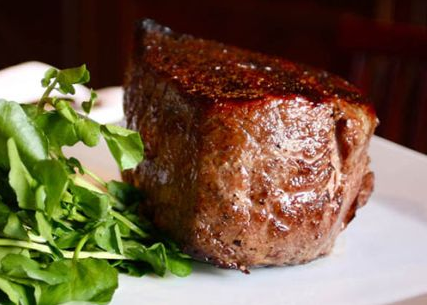 kobe beef steak served at old homestead stakehouse from wangyu cattle cows in japan