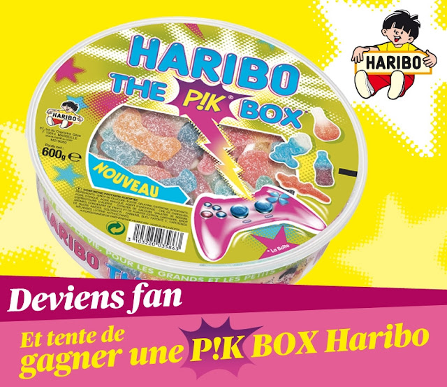 """40 boites de bonbons Haribo """"P!k box"""""""