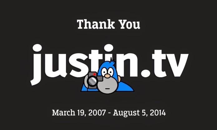 Justin.TV será finalizado - Foto: Reprodução/YouTube