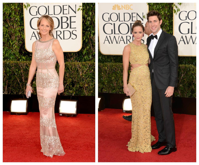 Salsa Rosa: Golden Globes Awards 2013