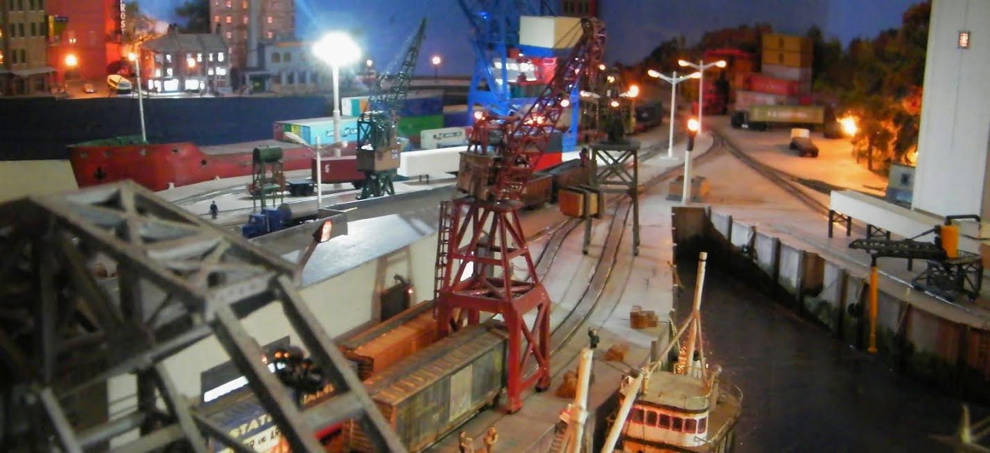 Wrightsville Port: N-Scale Waterfront Layout