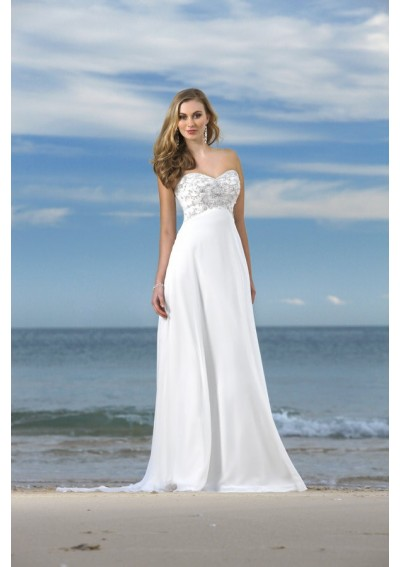 Cheap wedding gowns online blog beach themed wedding for Beach themed wedding dress