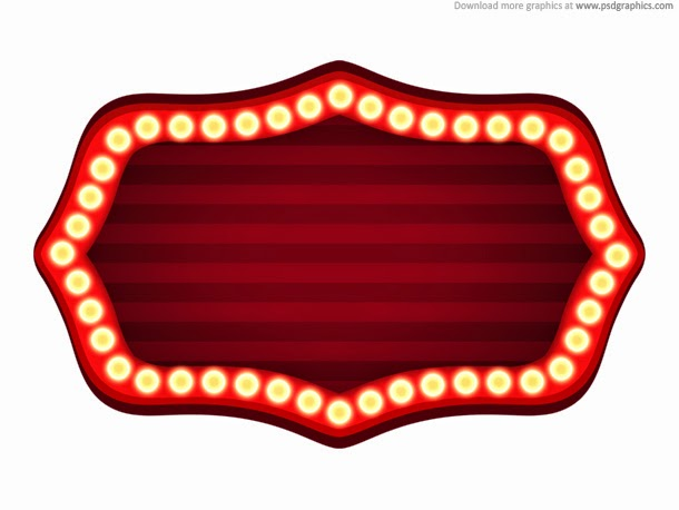 Theater Sign Template PSD