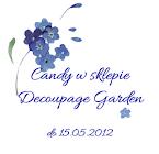 Candy w sklepie Decoupage Garden