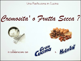 Il mio 1° contest : Cremosità o Frutta Secca ?