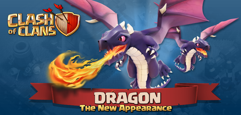 Clash+of+Clans+New+Dragon Th7 Clan War Dragon Attack Strategy