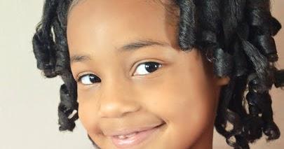 Little Girls Natural Hairstyle Flexi Rod Set Amp Flat