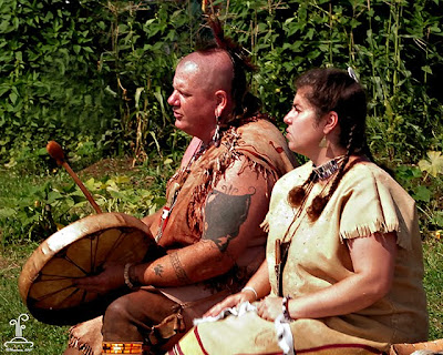 Champlain Maritime Museum Native American Encampment