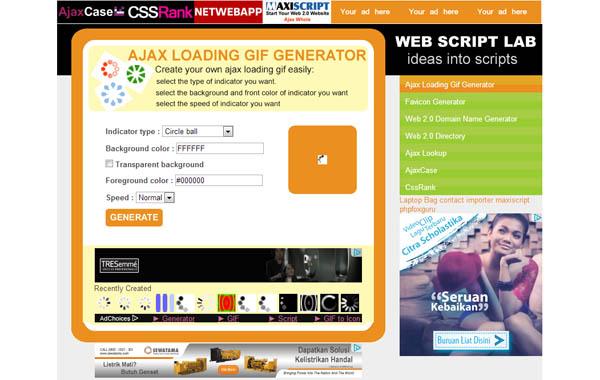 Web Script Lab