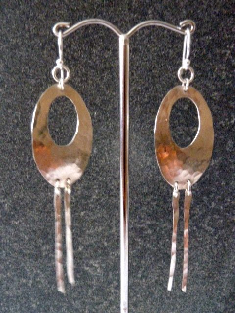 Hammered ear-rings