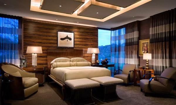 desain plafon kamar tidur minimalis