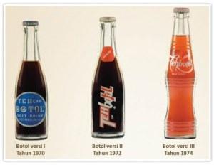 terjadi perubahan desain botol yang ke-III. Desain botolnya tidak seperti botol versi I & II. Dengan bentuk botol yang baru dan perubahan pada penulisan merk Teh Botol Sosro pada kemasannya.