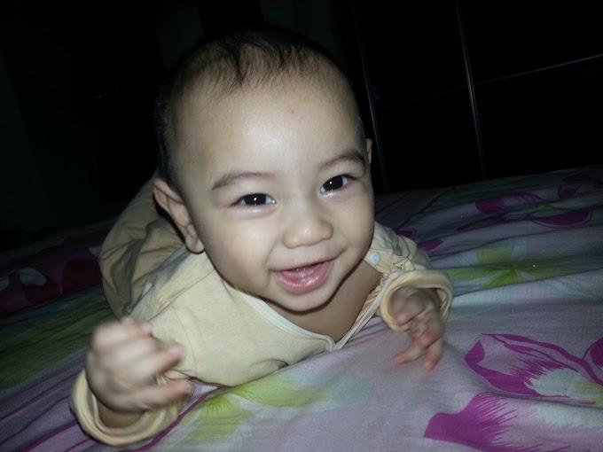 Faris dah 7 bulan