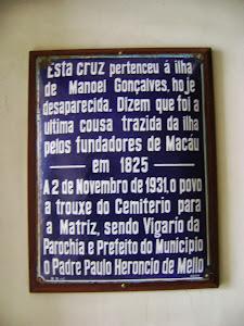 A Placa do Cruzeiro
