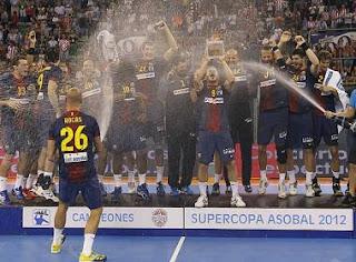 BALONMANO-Nuevo Supercampeón de España: Barcelona Intersport