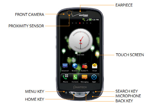 pantech breakout phone manual 1 manuals and user guides site