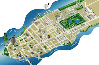 NYC Tourist Map 2